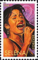[Latin Music Legends - Self Adhesive Stamps (44 cents), Typ FTO]