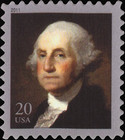 [George Washington, 1732-1799 - Self-Adhesive Stamp, Typ FTZ]