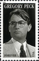 [Legends of Hollywood - Gregory Peck, 1916-2003 - Self-Adhesive Stamp (44 cents), Typ FUX]