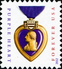 [Purple Heart - Self-Adhesive Stamp, Typ FVA1]