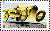 [The 100th Anniversary of the Indianapolis 500 - Self-Adhesive Stamp (44 cents), Typ FVB]