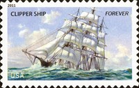 [Ships of the Merchant Marine - Self-Adhesive Stamps (44 cents), Typ FWE]