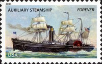 [Ships of the Merchant Marine - Self-Adhesive Stamps (44 cents), Typ FWF]