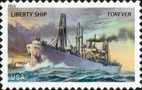 [Ships of the Merchant Marine - Self-Adhesive Stamps (44 cents), Typ FWG]