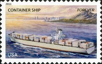 [Ships of the Merchant Marine - Self-Adhesive Stamps (44 cents), Typ FWH]