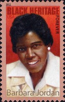 [Black Heritage - Barbara Charline Jordan, 1936-1996 - Self-Adhesive Stamp (44 cents), Typ FWZ]