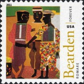 [The 100th Anniversary of the Birth of Fred Romare Harry Bearden, 1911-1988 - Self-Adhesive Stamps (44 cents), Typ FXB]