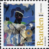 [The 100th Anniversary of the Birth of Fred Romare Harry Bearden, 1911-1988 - Self-Adhesive Stamps (44 cents), Typ FXC]