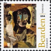[The 100th Anniversary of the Birth of Fred Romare Harry Bearden, 1911-1988 - Self-Adhesive Stamps (44 cents), Typ FXD]