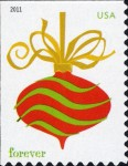 [Christmas - Self-Adhesive Stamps (44 cents), Typ FXF]