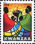[Kwanzaa Festival - Self-Adhesive Stamp (44 cents), Typ FXL]