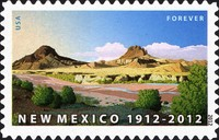 [The 100th Anniversary of New Mexico Statehood - Self-Adhesive Stamp (44 cents), Typ FXN]