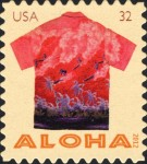 [Aloha - Hawaii Shirts - Self-Adhesive Stamps, Typ FXO]