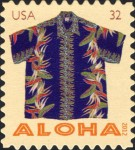 [Aloha - Hawaii Shirts - Self-Adhesive Stamps, Typ FXQ]