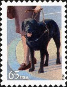 [Dogs at Work - Self-Adhesive Stamps, Typ FYG]