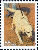 [Dogs at Work - Self-Adhesive Stamps, Typ FYH]