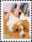 [Dogs at Work - Self-Adhesive Stamps, Typ FYI]