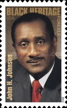 [Black Heritage - John H. Johnson, 1918-2005 - Self-Adhesive Stamp (45 cents), Typ FYQ]
