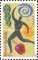 [Heart Health - Self-Adhesive Stamp (45 cents), Typ FYR]