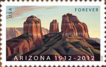 [The 100th Anniversary of Arizona Statehood - Self-Adhesive Stamp (45 cents), Typ FYT]