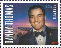 [The 100th Anniversary of the Birth of Danny Thomas, 1912-1991 - Self-Adhesive Stamp (45 cents), Typ FYU]