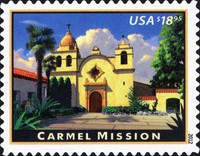 [Carmel Mission, California - Self-Adhesive Stamp, Typ FZA]