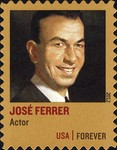 [Distinguished Americans - José Ferrer - Self-Adhesive (45 cents), type FZQ]