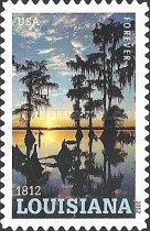 [The 200th Anniversary of Louisiana Statehood - Self-Adhesive Stamp (45 cents), Typ FZR]