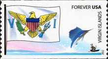 [Flags - Self Adhesive Stamps, Typ GAU]