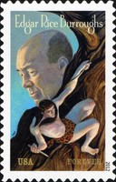 [Edgar Rice Burroughs, 1875-1950 - Self Adhesive Stamp, Typ GBB]