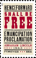 [The 150th Anniversary of the Emancipation Proclamation, Typ GCI]