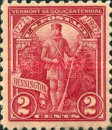 [Vermont Sesquicentennial Issue - Green Mountain Boy, Typ GE]