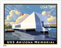 [Arizona Memorial - Priority Express Mail, Typ GLR]
