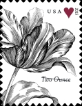 [Greetings Stamp - Vintage Flower, Typ GNX1]