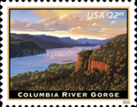 [Priority Mail Express - Columbia River Gorge, Typ GQE]
