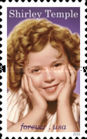 [Legends of Hollywood - Shirley Temple, 1928-2014, Typ GQV]