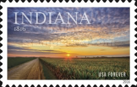 [The 200th Anniversary of Indiana Statehood, type GSS]