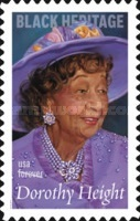 [Black Heritage - Dorothy Height, 1912-2010, Typ GVM]