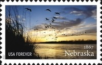[The 150th Anniversary of Nebraska Statehood, Typ HWC]