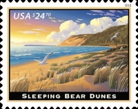 [Priority Mail Express - Sleeping Bear Dunes, Typ HZM]