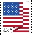 [Definitive - U.S. Flag, Typ HZO]