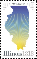 [The 200th Anniversary of Illinois Statehood, Typ HZZ]