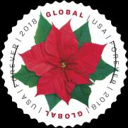 [Holiday Stamp - Poinsettia, Typ IBZ]