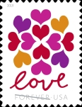 [Love Stamp - Hearts Blossom, Typ ICX]