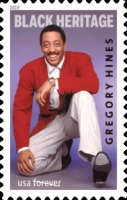 [Black Heritage - Gregory Hines, 1946-2003, Typ ICZ]