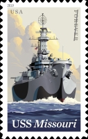 [Ships - The 75th Anniversary of the USS Missouri, Typ IEZ]