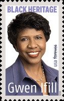[Black Heritage - Gwen Ifill, 1955-2016, type IHC]