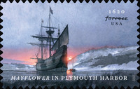 [The 400th Anniversary of the Arrival of the Mayflower in Plymouth Harbor, Typ IKG]