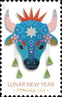 [Chinese New Year - Year of the Ox, type ILH]