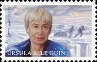[Personalities - Ursula K. Le Guin, 1929-2018, type INS]